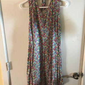 Flower summer dress.
